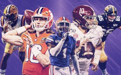 Joel's (almost certainly wrong) NFL Mock Draft