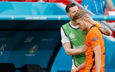 'De Ligt's go out…as The Netherlands 'Czech' out of Euro 2020!